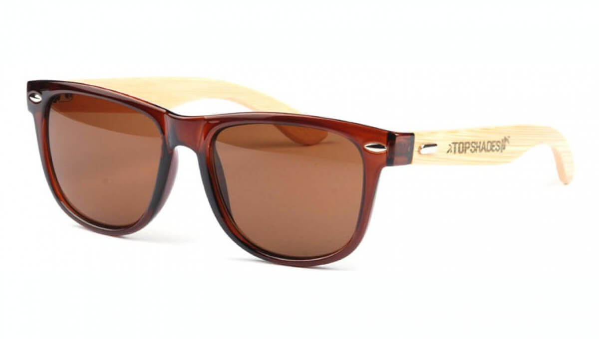 Charlie Brown - wooden sunglasses