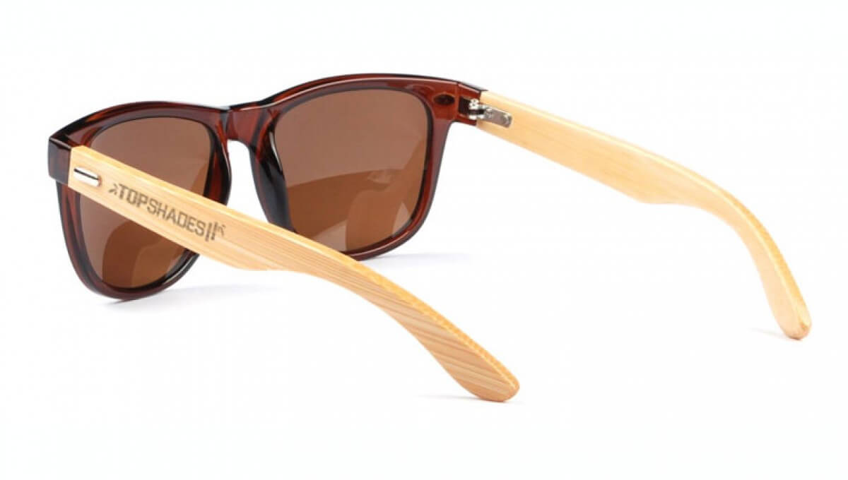 Lunettes Bamboo - Charlie Brown 1028-C2 - dos