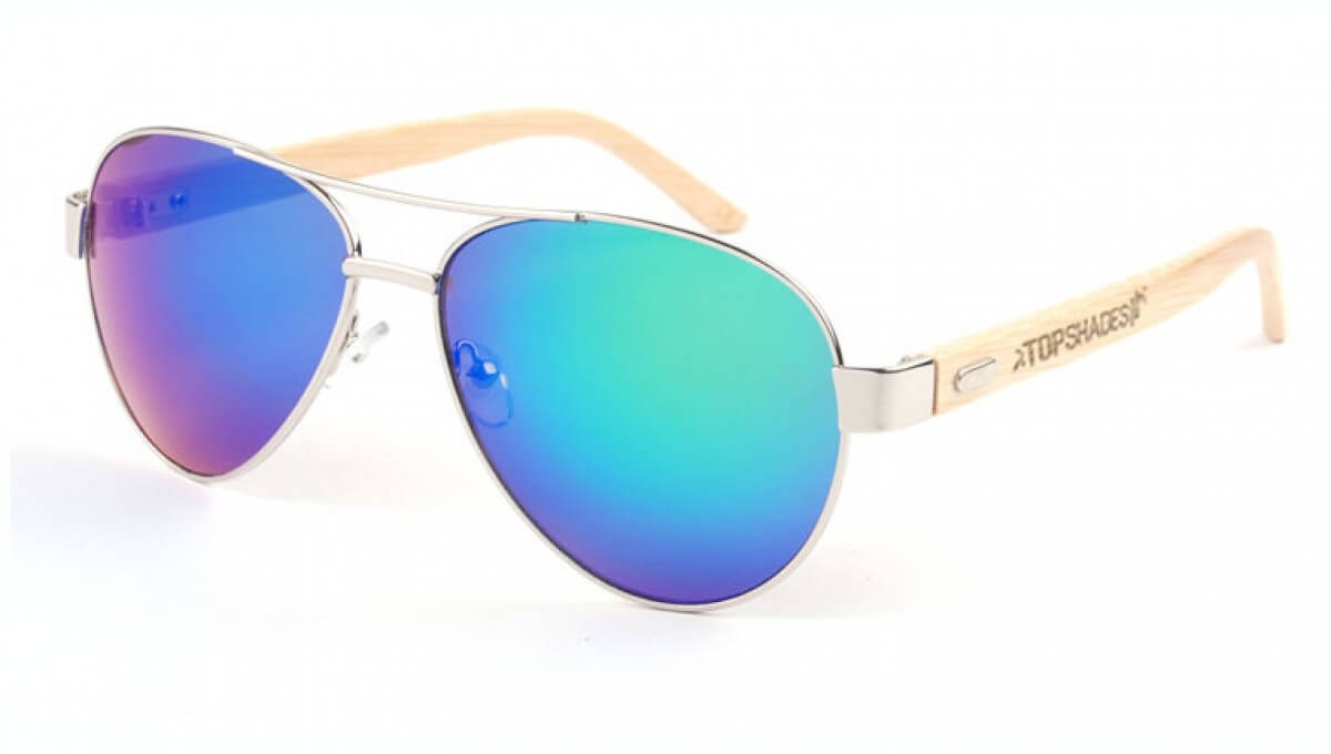Atlantic Flight - wooden sunglasses