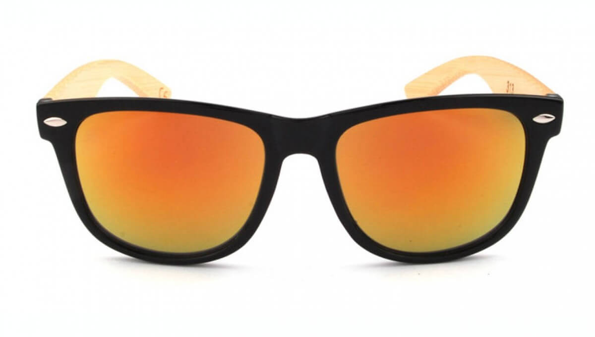 Lunettes Bamboo - Sunset 1028-MC5- face