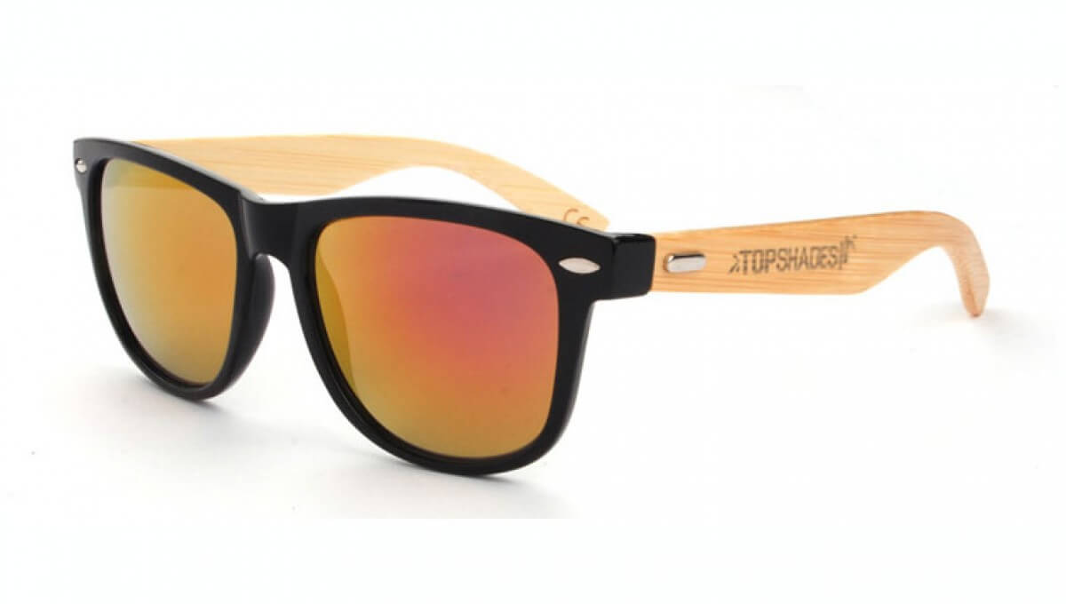 Lavanda - wooden sunglasses