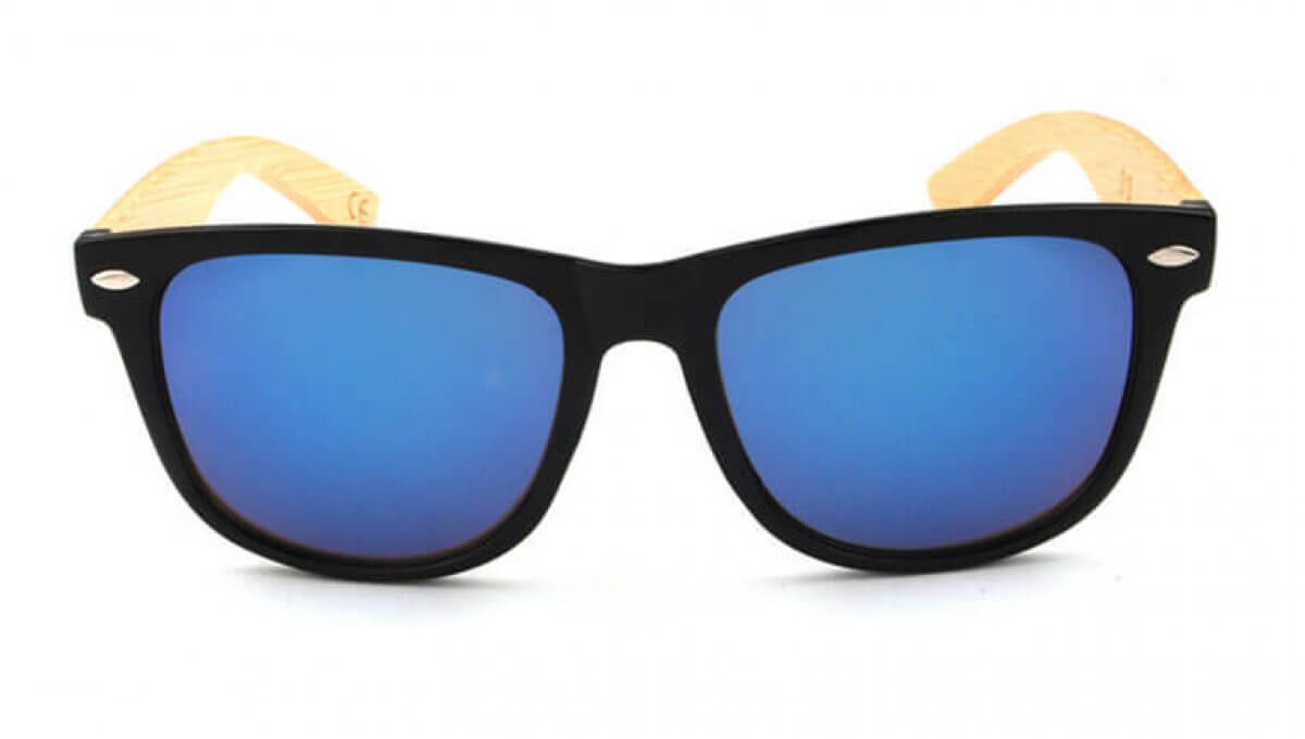 Blues wooden – sunglasses
